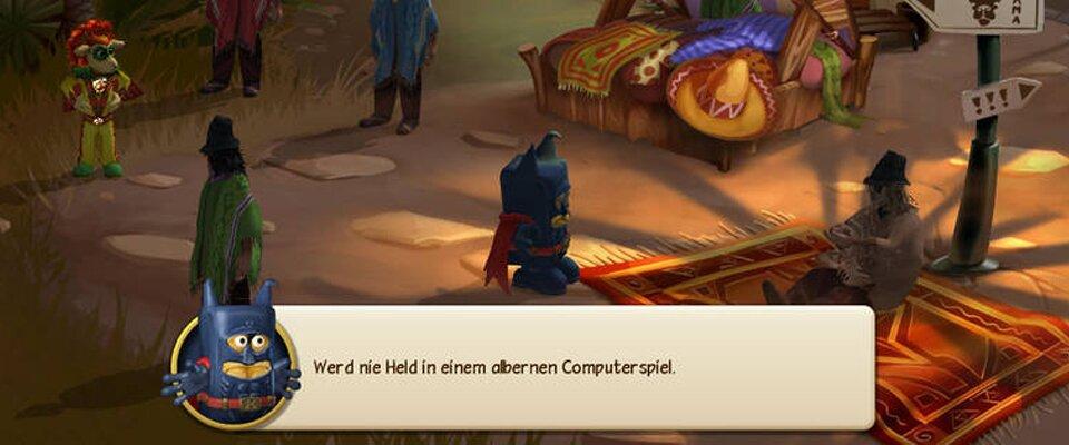 """Screenshot """"Bernd das Brot und die Unmöglichen"""""""
